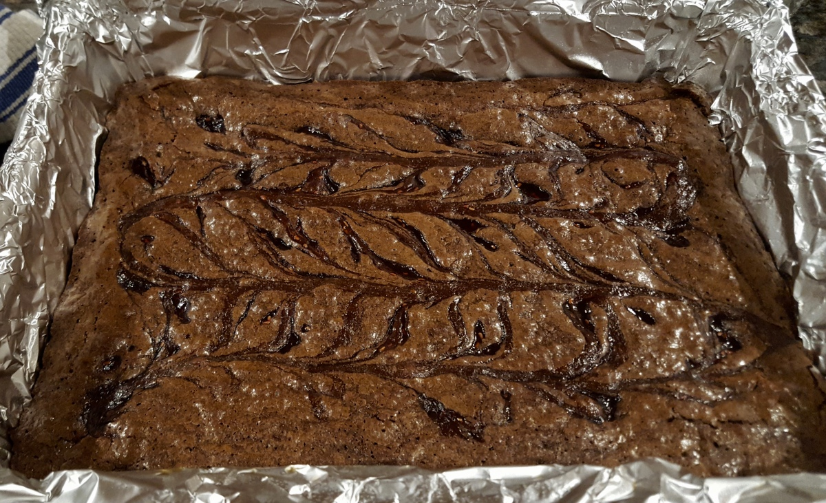 Ice Day Brownies